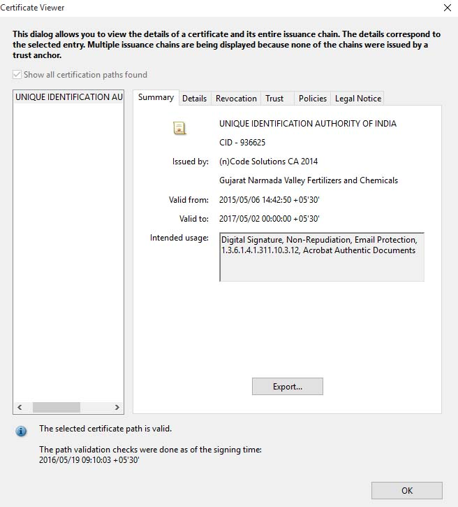 how to secure signature in pdf