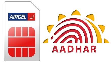 link Aadhaar Number with Aircel SIM