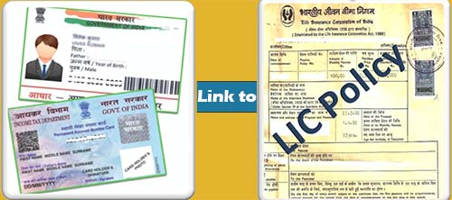 Link Aadhaar with LIC Policy