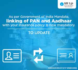 Link Aadhaar Number with SBI Life Insurance