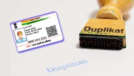 How to Get Duplicate Aadhar Card