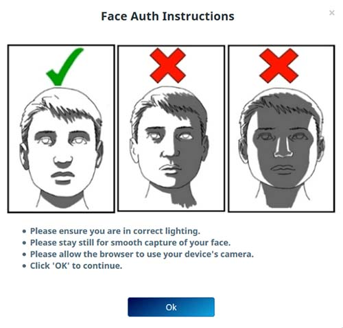 Aadhaar face auth Instructions