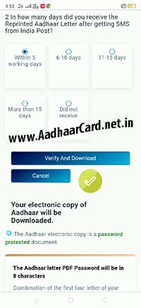 Download Aadhaar by Face Verify and Download