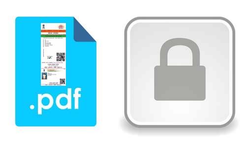 What is the Password for Aadhaar Card PDF File