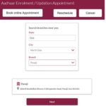 Book Online Appointment Axis